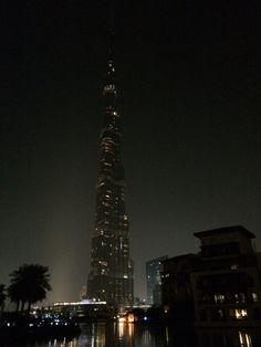 UAE marks Earth Hour - nice shot of Burj in the dark