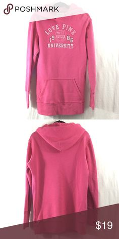 Spotted while shopping on Poshmark: PINK Victoria's Secret hoodie! #poshmark #fashion #shopping #style #PINK Victoria's Secret #Jackets & Blazers