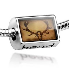 "Amazon.com: Beads ""deer antlers"" - Pandora Charm & Bracelet Compatible: NEONBLOND Jewelry & Accessories: Jewelry"