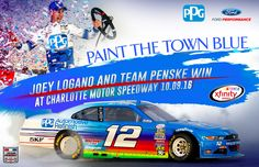 Congratulations to #JoeyLogano and #TeamPenske on yesterday's #XfinitySeries win at #CharlotteMotorSpeedway. #REVItUp