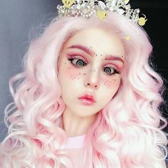 #moda #Maquillaje Makeup Inspo, Makeup Inspiration, Beauty Makeup, Aesthetic People, Aesthetic Girl, Halloween Kostüm, Halloween Makeup, Pastell Make-up, Juuzou Tokyo Ghoul