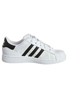 new style 1d894 8939e SUPERSTAR K - Chaussures à lacets - white black. Bas AdidasChristmas List  ...