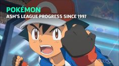 Ash's 20 year Pokémon League progress. #ElectronicsStore