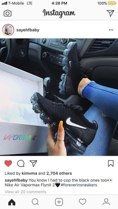 Nike VaporMax - Trendy Sneakers 2019 : Find More at => Nike Air Max Tn, Nike Air Force, Cute Sneakers, Sneakers Nike, Souliers Nike, Shoe Boots, Shoes Sandals, Heels, Air Max 90 Premium