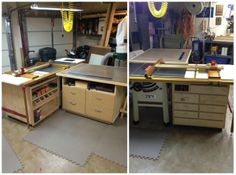 #KregJig Project: Outfeed Table and Under-Saw Storage