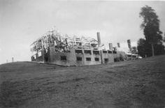 Incendio del Hotel Llao Llao, 26 de Octubre de 1939 (Col Garza en Archivo Visual Patagónico)