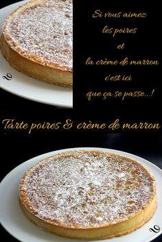 New Ideas For Fruit Tart Pie Summer Desserts Easy Cake Recipes, Dessert Recipes, Pear Tart, Pear Pie, Salty Cake, Sweet Pie, Fruit Tart, Orange Recipes, Savoury Cake
