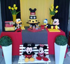 Kit Decoração Mickey | Decoração & Ação | Elo7