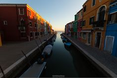 Canal | Burano by Giulio Rosso Chioso on 500px