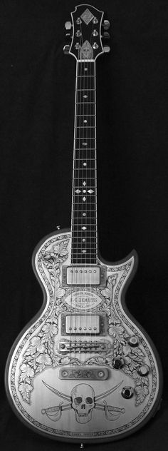 Very cool guitar, such incredible craftsmanship!