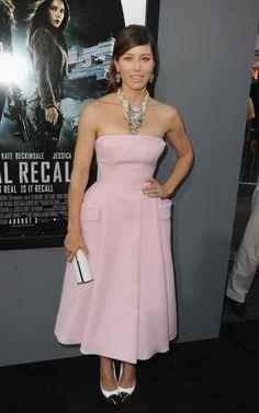 Jessica Biel in Christian Dior Couture