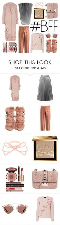 """""""Her gift!"""" by almasimaryam ❤ liked on Polyvore featuring Paskal, Miss Selfridge, Gianvito Rossi, J.Crew, Ted Baker, Burberry, Charlotte Tilbury, Valentino, Christian Dior and Exclusive for Intermix"""