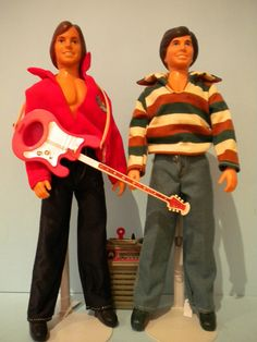 Hardy Boys dolls (Shaun Cassidy and Parker Stevenson) by Kenner. I had Parker.