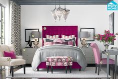 Bassett Rooms We Love   * really just the fabric on the chair to the left :: printed novelty linen 5094-1 *