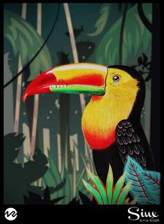 Illustration over background - 2006