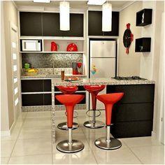 cozinha americana pequena com sala de jantar - Pesquisa Google