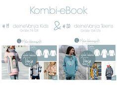 Fashion Tutorials – ★ Kombi-eBook ★ deine VANJA Kids & Teens ★ ... – a unique product by MeineHerzensweltDIY on DaWanda