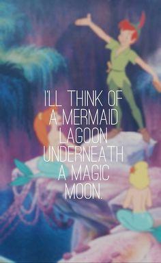 mermaid lagoon - Peter Pan, 1953 -