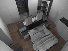 Faire d\'une chambre de taille moyenne, une suite avec WC, salle de ...