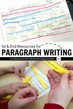 Eeeek - paragraph writing! It's my favorite time in 1st grade because we begin to SOAR and it is so easy to see how far we've come in a year. In August, we were barely writing sentences & now we're writing cohesive chunks of text. It's AMAZING!