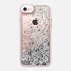Casetify iPhone 7 Liquid Glitter Case - Glitter Standard by Casetify Custom Cell Phone Case, Custom Iphone Cases, Iphone 8 Cases, Cell Phone Cases, Iphone 7, Phone Cover, Cell Phone Companies, Accessoires Iphone, Glitter Phone Cases