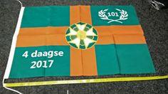 De 2017 vlag, groot of klein. Alleen verkrijgbaar bij nijmeegs jopie