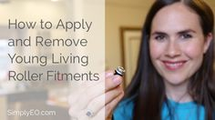 The Young Living roller fitments are very handy but, if you're like me, you wondered how the heck to get them on at first. Well, in this video I'll show you how The first thing you want to do is check on the bottom of your Young Living essential oil bottle. You want to see …