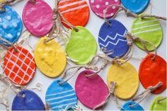 Húsvéti dísz só-liszt gyurmából - DIY | Petra blogja