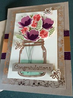 Jar of Love and Marriage by lbirus - Cards and Paper Crafts at Splitcoaststampers