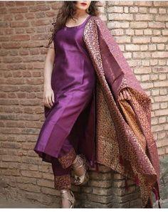 Salwar Designs, Silk Kurti Designs, Kurta Designs Women, Kurti Designs Party Wear, Brocade Blouse Designs, Stylish Dress Designs, Designs For Dresses, Indian Fashion Dresses, Dress Indian Style