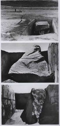 Michael Heizer, Displaced/Replaced Mass, 1969