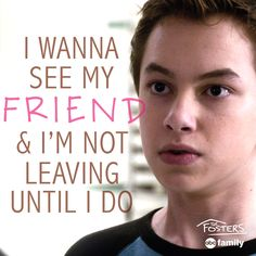Go Jude!   The Fosters Quotes