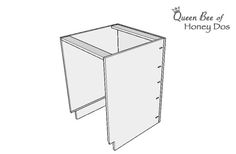 How To Build Cabinet Boxes #basecabinet