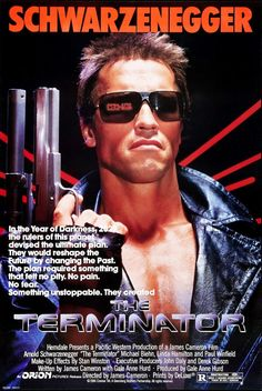 The Terminator (1984-Sci/Fi) 80s Posters, Movie Poster Frames, Terminator 1984, Terminator Movies, Christopher Plummer, Constance Wu, Julia Stiles, Fred Rogers, Edward Norton