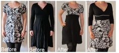 Refashion Co-op -two old dresses into two new dresses
