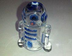 I don't smoke weed, but if I did... The R2-D2 Glass Pipe