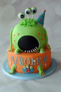 Monsters - Cake by Klara Liba