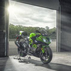 Lime Green and Ebony, straight up. How do you take your Ninja? #NINJALIFE