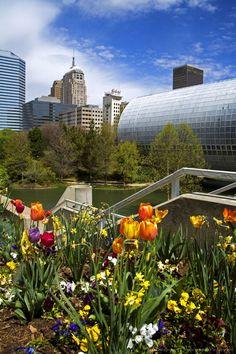 Myriad Botanical Gardens, Downtown Oklahoma City