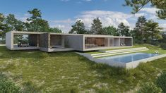 The country house - Pitsou Kedem Pitsou Kedem, Home Interior Design, Modern Architecture, Villa, Deck, Country, Outdoor Decor, House, Home Decor