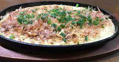子供たちが大好きな、山芋ステーキ(山芋 鉄板焼き)です。小麦を入れていないので、粉っぽさがなくとても美味しいです。