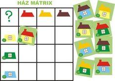óvodai játékok - Google keresés Preschool Math, Toddler Preschool, Teaching Math, Kids Learning Activities, Preschool Activities, Visual Perception Activities, Logic Games, Matching Games, Business For Kids