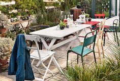 Mehr Grün für dein Zuhause! So schön kann dein Outdoor-Esszimmer sein. Erfahre jetzt mehr bei IKEA!