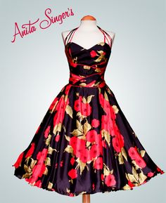 Vestido Anna Juan By Anita Singers. https://www.facebook.com/pages/Anita-Singers/565541916806170#!/media/set/?set=a.565657120127983.147181.565541916806170&type=3