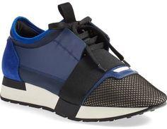 Balenciaga Mixed Media Sneaker (Women) - $645.00