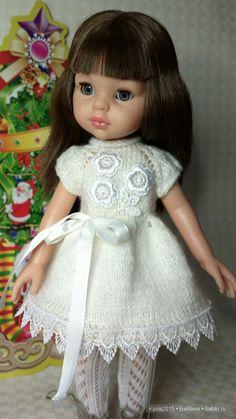 """Мое вязание. Комплект ,,Зимушка"""". / Одежда и обувь для кукол - своими руками и не только / Бэйбики. Куклы фото. Одежда для кукол"""