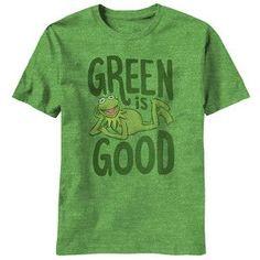 Green Is Good! KERMIT FROWN!