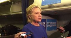 Precision Journos: Hillary Clinton's Pneumonia is Back, Cancels Event...