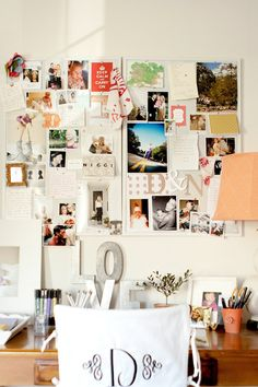 Mood Board. To track the things she loves most. @nicolemeohmy    http://www.stylemepretty.com/living/2013/03/11/nicole-of-me-oh-my-mamas-home-photographed-by-ashlee-raubach/    Photography: http://ashleeraubachphotography.blogspot.com/