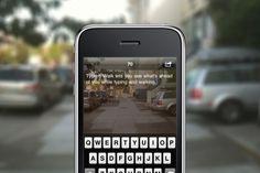 type + walk app